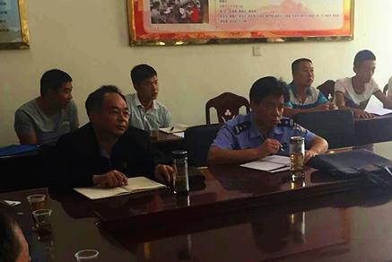 枝江法院江口法庭为民调主任进行专题培训